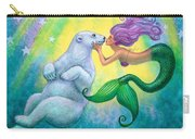 Polar Bear Kiss Carry-all Pouch