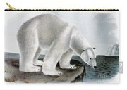 Polar Bear (ursus Maritimus) Carry-all Pouch