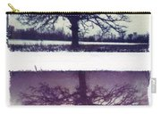 Polaroid Transfer Tree Carry-all Pouch by Jane Linders