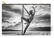 Pole Dance Reach Hdr Carry-all Pouch
