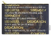 Police Officers Prayer Carry-all Pouch