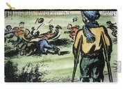Polio Cartoon, 1957 Carry-all Pouch