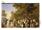 Politicians In The Tuileries Gardens Carry-all Pouch by Louis Leopold Boilly