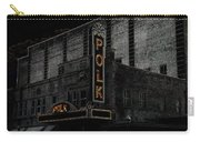 Polk Movie House Carry-all Pouch by David Lee Thompson