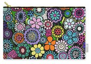 Polka Dot Bouquet Carry-all Pouch