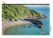 Polkerris Beach And Harbour Carry-all Pouch