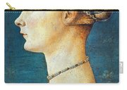 Pollaiuolo: Young Woman Carry-all Pouch