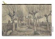 Pollard Birches Nuenen  March 1884 Vincent Van Gogh 1853  1890 Carry-all Pouch