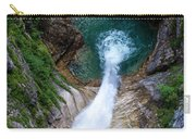 Pollat River Waterfall - Neuschwanstein Castle - Germany Carry-all Pouch