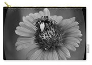 Pollen Collector Bw Carry-all Pouch