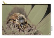 Pollinating Bee Carry-all Pouch