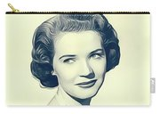Polly Bergen, Vintage Actress Carry-all Pouch