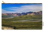 Polychrome Pass Area Denali National Park Four Carry-all Pouch
