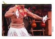 Polynesian Warrior Dancer Carry-all Pouch