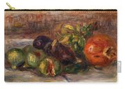 Pomegranate And Figs Carry-all Pouch