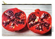 Pomegranate Cut In Half Carry-all Pouch