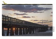 Pompano Beach Fishing Pier At Sunrise Florida Carry-all Pouch
