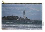 Pompano Beach Kiteboarder Hillsboro Lighthouse Catching Major Air Carry-all Pouch