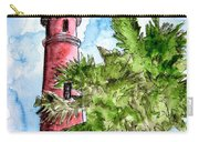 Ponce De Leon Inlet Florida Lighthouse Art Carry-all Pouch