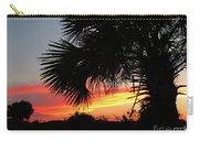 Ponce Inlet Florida Sunset Carry-all Pouch