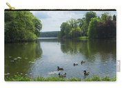 Pond And Ducks Carry-all Pouch