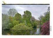 Pond At Buckingham Palace London Carry-all Pouch