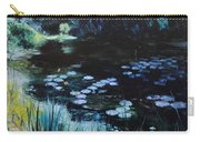 Pond At Port Meirion Carry-all Pouch