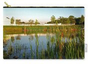 Pond At Sunset Carry-all Pouch