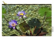 Pond Florals Carry-all Pouch