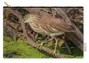 Pond Heron With Fish  Carry-all Pouch