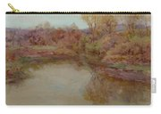 Pond In Early Autumn Carry-all Pouch