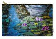 Pond In Monet Garden Carry-all Pouch