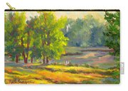 Pond In Morning Light Carry-all Pouch