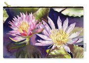 Pond Lilies Carry-all Pouch