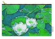 Pond Lily 2 Carry-all Pouch