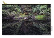 Pond Reflections -- Tongass National Forest Alaska Carry-all Pouch