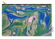 Pond Swirl 2 Carry-all Pouch