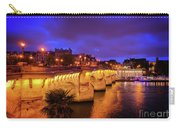 Pont Neuf At Night Carry-all Pouch