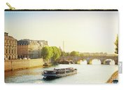 Pont Neuf In Sunset Light Carry-all Pouch