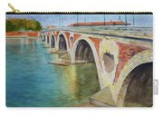 Pont Neuf Sur La Garonne At Toulouse Carry-all Pouch