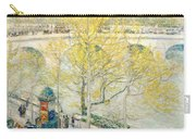 Pont Royal Paris Carry-all Pouch by Childe Hassam