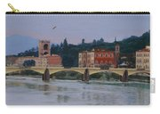 Ponte Vecchio Landscape Carry-all Pouch