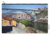 Ponte Luiz I Between Porto And Gaia In Portugal Carry-all Pouch