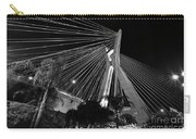 Ponte Octavio Frias De Oliveira At Night - Sao Paulo, Brazil Carry-all Pouch