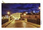 Ponte Romana At Blue Hour / Tavira, Portugal Carry-all Pouch by Barry O Carroll