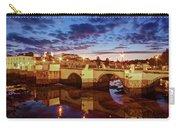 Ponte Romana At Dusk - Tavira, Portugal Carry-all Pouch by Barry O Carroll