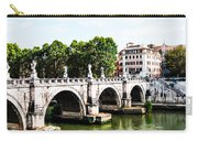 Ponte Saint' Angelo, Rome Carry-all Pouch