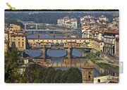 Ponte Vecchio - Florence Carry-all Pouch by Joana Kruse