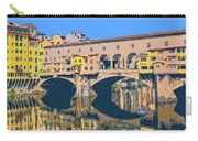 Ponte Vecchio Florence Carry-all Pouch