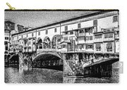 Ponte Vecchio Florence Sketch Carry-all Pouch